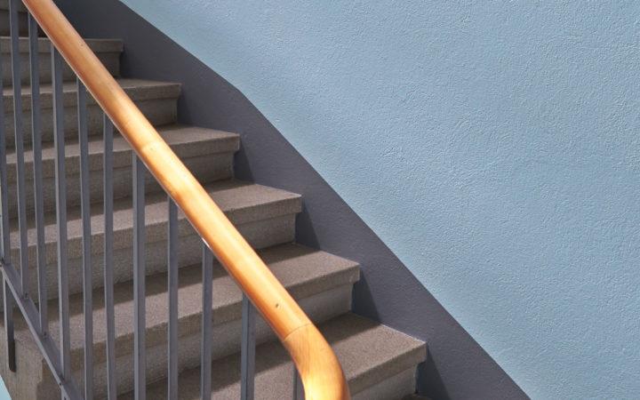 Treppenhaus Breitenrain, Bern (innere Malerarbeiten)