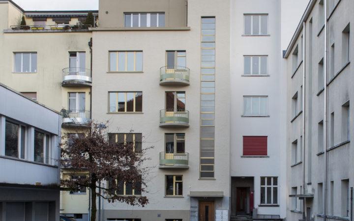 Mehrfamilienhaus Wyler, Bern (innere u. äussere Malerarbeiten)