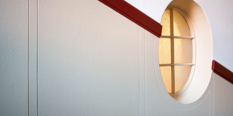 Treppenhaus Breitenrain II, Bern (innere Malerarbeiten)
