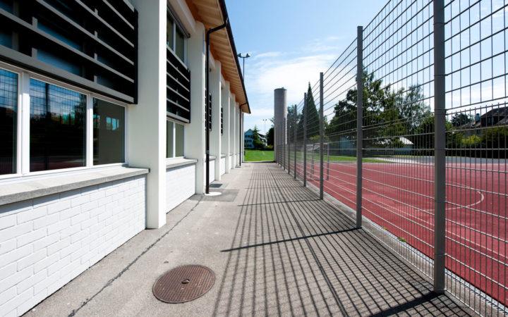 Turnhalle Schulhaus Manuel, Bern (äussere Malerarbeiten)